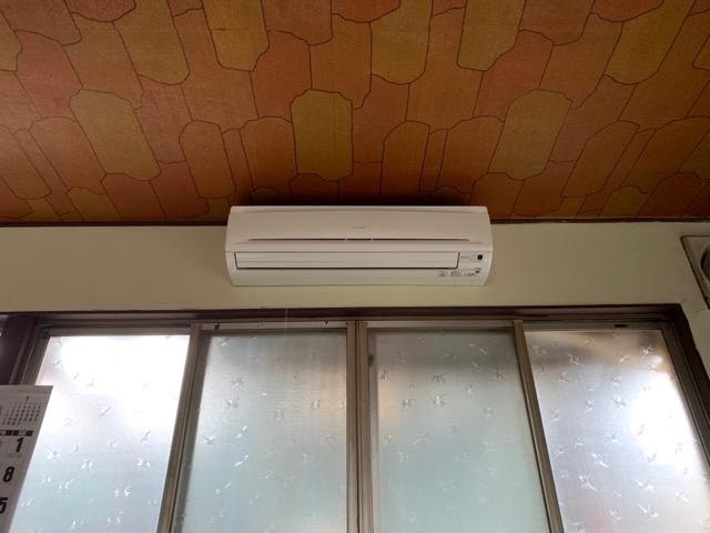 男湯に設置されたエアコン